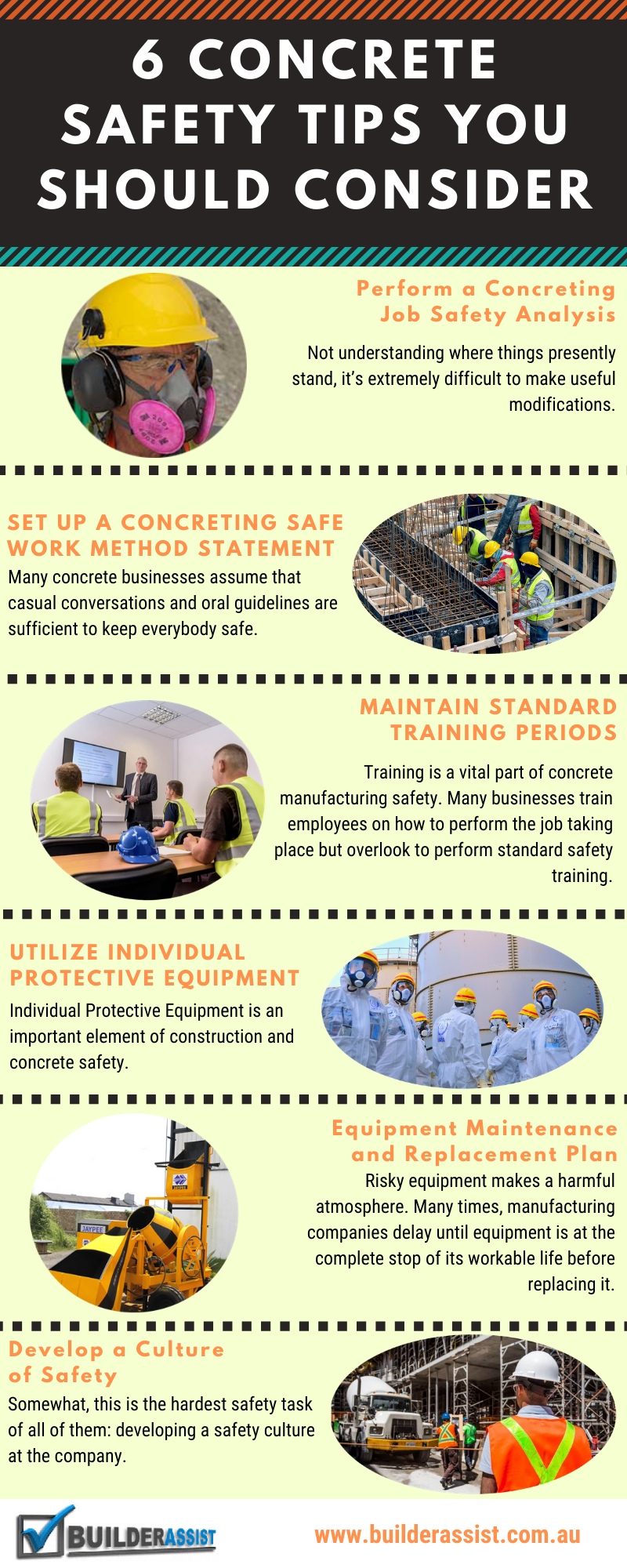 6 Concrete Safety Tips Should Consider [Infographic]