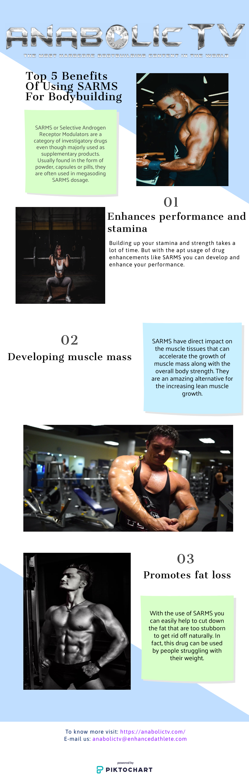 Top Benefits Of Using SARMS For Bodybuilding